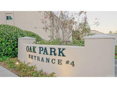 Calabasas Condo/Townhouse For Sale: 4612 Park Granada #56