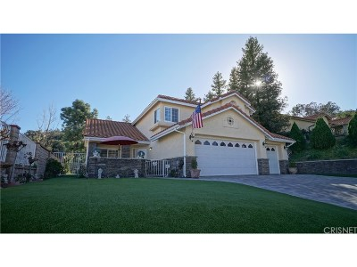 Stevenson Ranch Single Family Home For Sale: 24730 Laurelcrest Lane