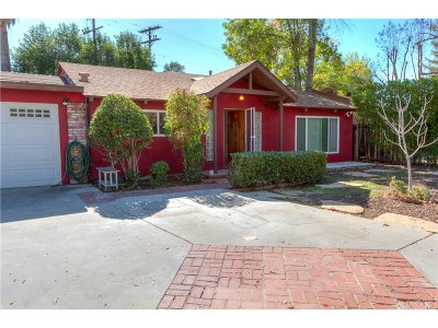 Woodland Hills Single Family Home For Sale: 22820 Leonora Drive