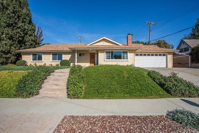 Thousand Oaks Single Family Home For Sale: 1115 Uppingham Drive