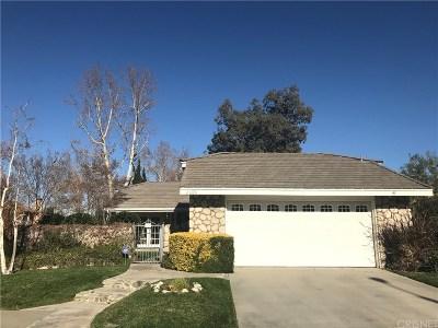 Valencia Single Family Home For Sale: 26178 Via Raza