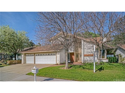Valencia Single Family Home For Sale: 24225 Vista Ridge Drive