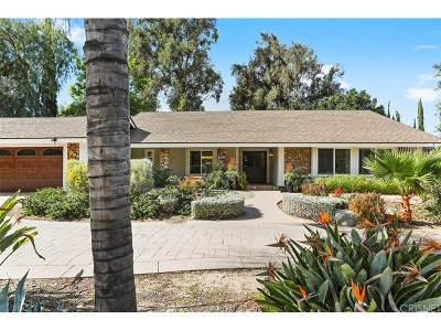 Thousand Oaks Single Family Home For Sale: 1931 Erbes Road