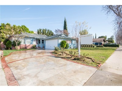 Single Family Home Sold: 15039 Archwood Street
