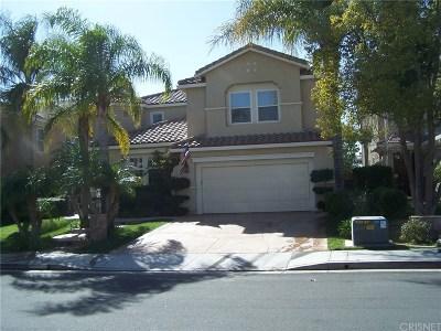 Saugus Single Family Home For Sale: 22430 Skylake Place