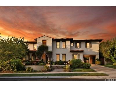 Calabasas Single Family Home For Sale: 25431 Prado De Oro