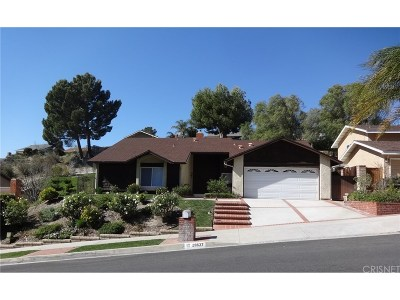 Canyon Country Single Family Home For Sale: 28637 Kenroy Avenue