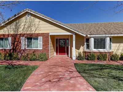 Acton Single Family Home For Sale: 3533 Lariat Way