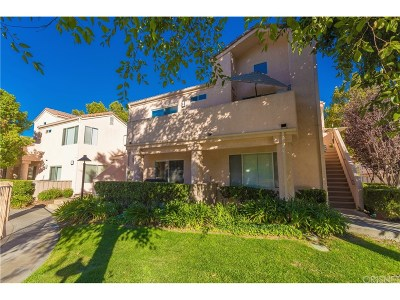 Newhall Condo/Townhouse For Sale: 24496 Valle Del Oro #102
