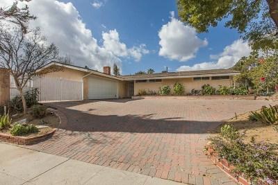 Northridge Single Family Home For Sale: 17500 Romar Street