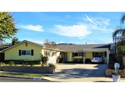 Simi Valley CA Single Family Home For Sale: $629,999