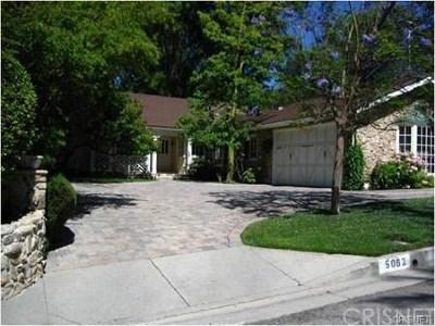 Tarzana Rental For Rent: 5062 Calvin Avenue