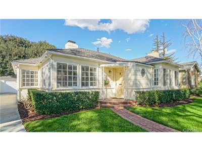 Burbank CA Single Family Home Sold: $1,144,000