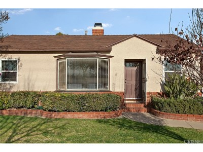 Burbank Single Family Home For Sale: 238 North Parish Place