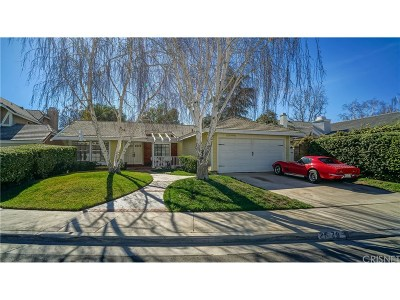 Valencia Single Family Home For Sale: 25786 Miguel Court