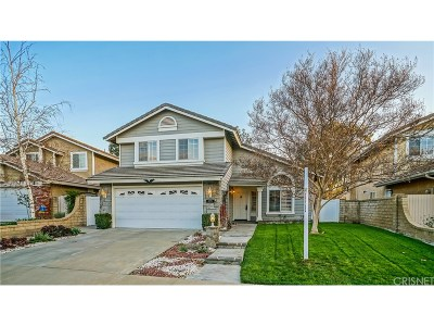 Saugus Single Family Home For Sale: 22526 Oxford Lane