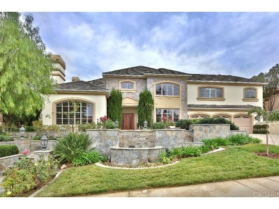 Calabasas Single Family Home For Sale: 5524 Amber Circle
