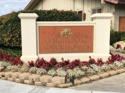 Thousand Oaks Condo/Townhouse For Sale: 1792 Orinda Court