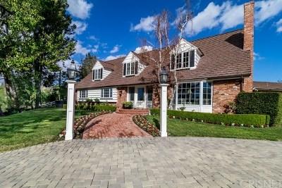 Hidden Hills Single Family Home For Sale: 25003 Jim Bridger Road