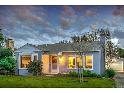 Studio City Single Family Home For Sale: 12436 Landale Street