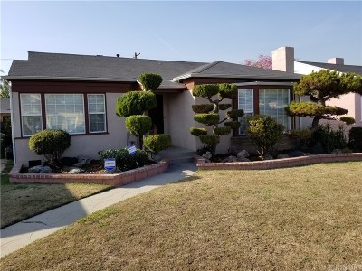 Los Angeles CA Single Family Home For Sale: $780,000