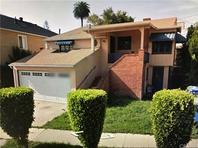 Los Angeles CA Single Family Home For Sale: $575,000