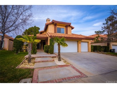 Palmdale Single Family Home For Sale: 423 Pagosa Court