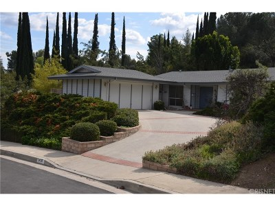 Woodland Hills Single Family Home For Sale: 24126 Califa Street