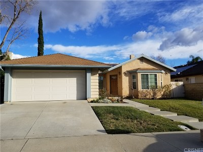 Saugus Single Family Home For Sale: 21621 Turmeric Court