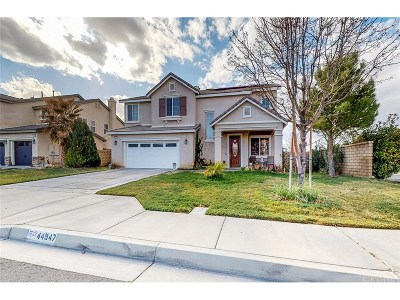 Lancaster Single Family Home For Sale: 44947 Mariposa Drive