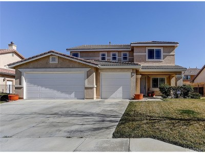 Lancaster Single Family Home For Sale: 43712 Paloma Street