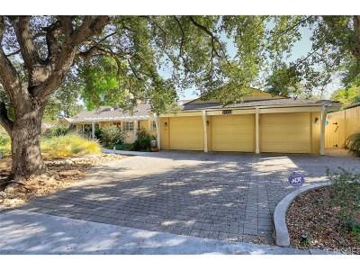Encino Single Family Home For Sale: 16744 Adlon Road