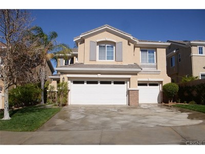 Saugus Single Family Home For Sale: 22063 Gold Canyon Drive