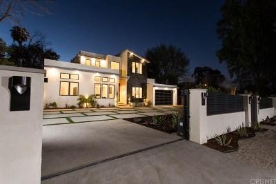 Tarzana Single Family Home For Sale: 5345 Vanalden Avenue