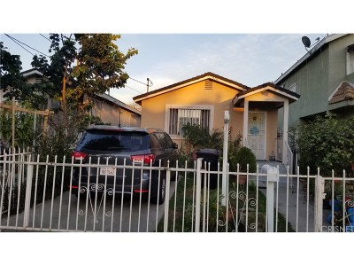 Los Angeles Single Family Home For Sale: 9514 Juniper Street