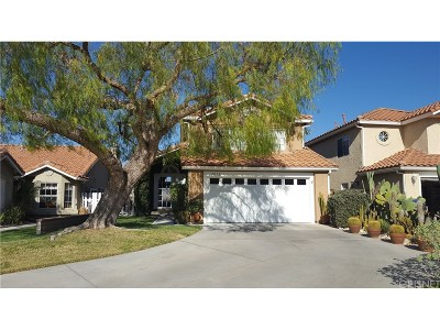 Newhall CA Single Family Home Sold: $525,000