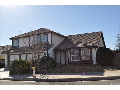 Palmdale Single Family Home For Sale: 3546 Cosmos Court
