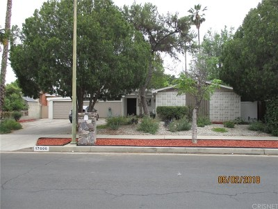 Northridge Single Family Home For Sale: 17608 Mayall Street