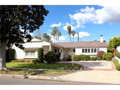 Cheviot Hills Single Family Home For Sale: 3229 Woodbine Street