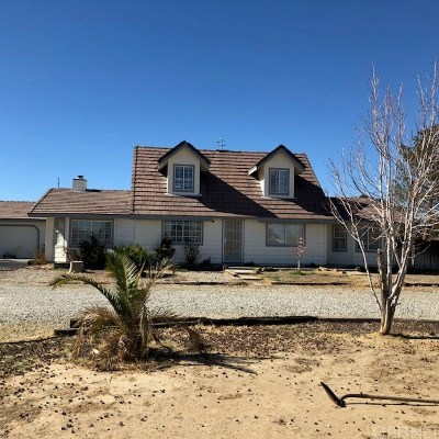 Lancaster Single Family Home For Sale: 44909 45th Street East