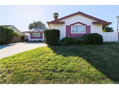 Saugus Single Family Home For Sale: 26715 Servia Drive