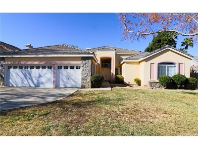 Palmdale Single Family Home For Sale: 40969 Riverock Lane