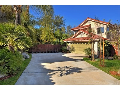 Calabasas CA Single Family Home For Sale: $899,000