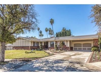 Tarzana Single Family Home For Sale: 4601 La Cesta Place