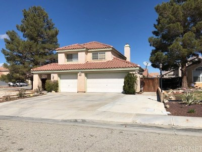 Palmdale Single Family Home For Sale: 6023 Paz