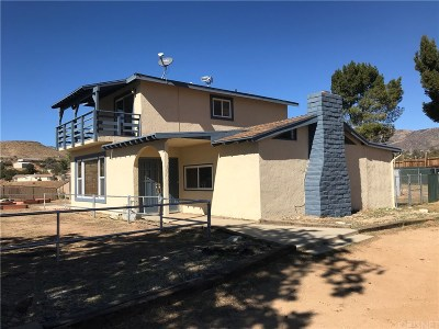 Acton Single Family Home For Sale: 34450 Red Rover Mine Road