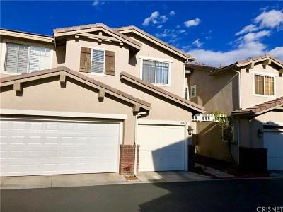 Valencia Condo/Townhouse For Sale: 26502 Bryce Road