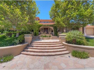 Calabasas Single Family Home For Sale: 25527 Hamilton Court
