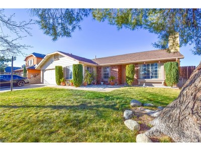 Palmdale Single Family Home For Sale: 3619 Saturn Avenue