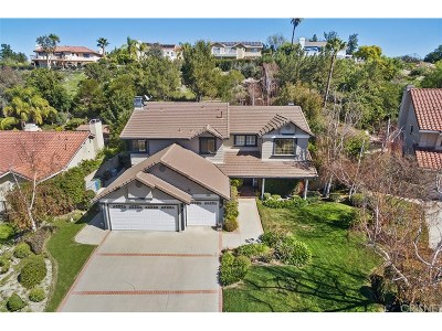 Calabasas Single Family Home For Sale: 22107 Palais Place